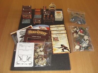 Heroquest Game Nearly Complete •no box•