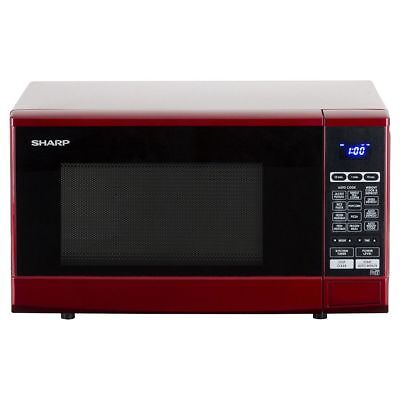 Sharp R-270RDM Solo Microwave 20L 800W - Red (Damaged) A