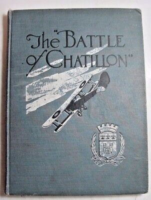 WWI-The Battle of Chatillon-1919-Second Corps Aero-AEF-Book