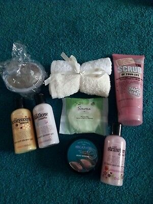 Mixed toiletry bundle including Soap and Glory