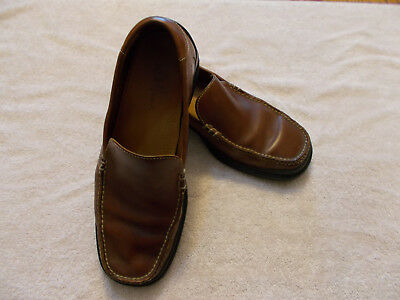 aa3d7dccd8f COLE HAAN 07184 Santa Barbara Slip On Moc Toe Nike Air Loafer Men s ...