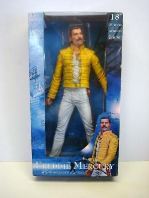 2006 18'' Freddie Mercury Figure with Music / Sound - Plays Queen Songs