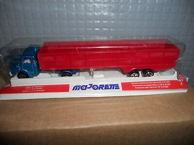 Majorette  324 Lorry And Trailer  Mint Boxed Rare Still   Sealed