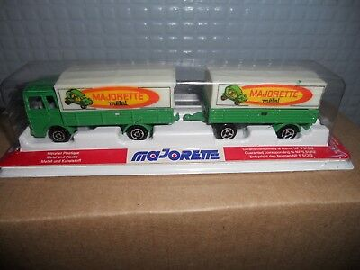 Majorette  366 Lorry And Trailer  Mint Boxed Rare Still   Sealed