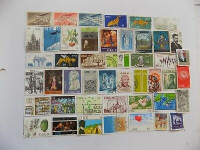 Irish Collection of stamps off paper all  Commem..-10-12-