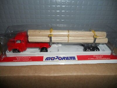 Majorette  320Lorry And Trailer Log Load   Mint Boxed Rare Still   Sealed