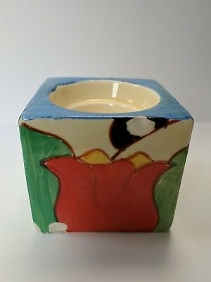 Vintage Clarice Cliff Rare Fantasque Inkwell - damaged