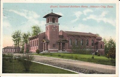 1916 The Chapel, National Soldiers Home in Johnson City, TN Tennessee PC