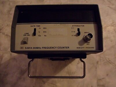 HP 5381A 80MHz Frequency Counter