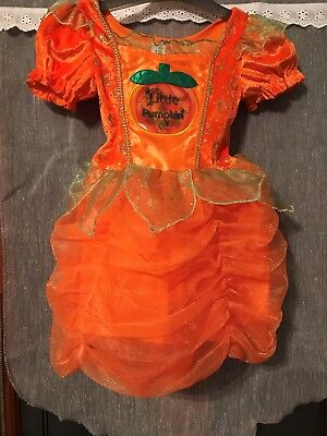 Baby girls 1-2 years / 12-18 months fancy dress/ halloween sparkly pumpkin dress