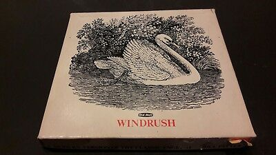 An Old Hall Windrush Boxed set of Stainless steel teaspoons Robert Welch 1970's
