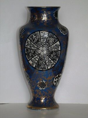 An Antique Pottery Vase Unmarked Possibly A Secessionist Piece? Unusual Design