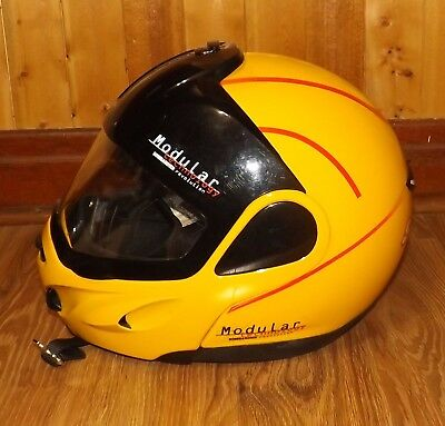 Bombardier Ski-Doo Modular BRP Yellow Helmet XXL w/Carry Bag Snowmobile