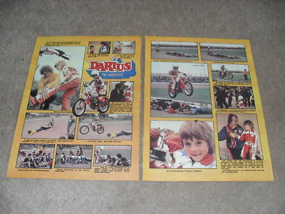 DARIUS THE DAREDEVIL GOODWIN - YOUNG 1980's BIKE STAR - OLE OLSEN, DAVE LANNING.