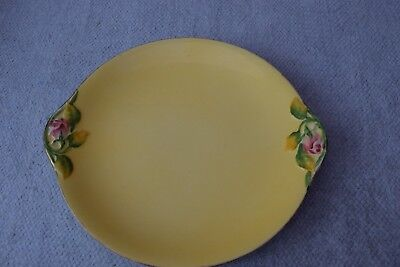 Vintage Royal Winton Yellow Rosebud Bread & Butter Plate