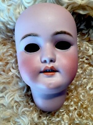 ~ Beautiful!Large Antique German 1079 S&H Socket Head Doll Head Only Needs Eyes