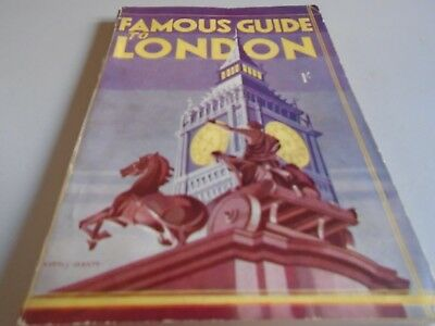 vintage guide to London - the famous guide to London