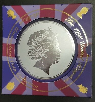 1998 Brilliant Uncirculated Coin Collection in Presentation Folder UK