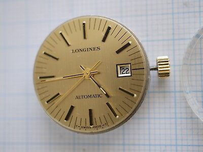 Longines Automatic Movement & Dial Ø 22.2mm Cal.L 561.1-25 JEWELS -for parts-