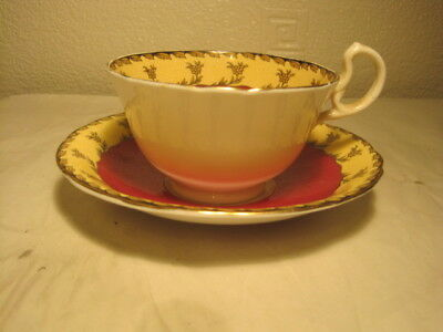 Gorgeous Aynsley Decorated Cup & Saucer Pattern B3679