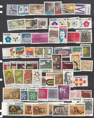 Canada - 2 Pages Of Mint Never Hinged  - Scan!