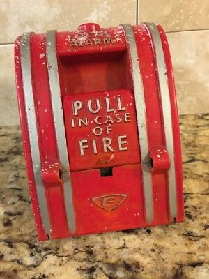 """Edwards """"Pull In Case Of Fire"""" Alarm Wall Mount, You Know U Want To Pull It!!!"""
