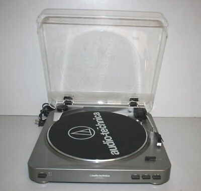 Audio-Technica AT-LP60 USB Stereo Turntable Record Player Works