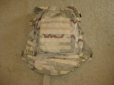 Camelbak Motherlode Backpack Three Day Dcu Desert Camoflauge Used