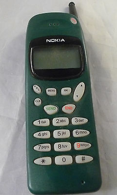 Vintage NOKIA green Hand Mobile Phone Unknown Model