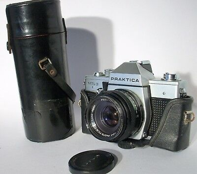 VINTAGE PRAKTICA MTL3 35mm SLR CAMERA WITH 2 LENSES