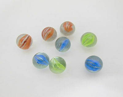 5000 Clearer Classic Play Glass Marbles 16mm Mixed Color