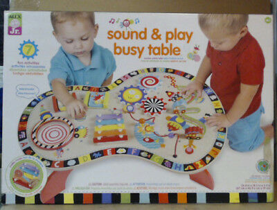 NEW ALEX Toys Jr Sound & Play Busy Table Baby Activity Center $115
