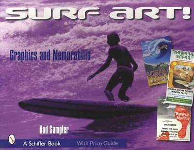 Surf Art!  Vintage Graphics & Memorabilia Collector Guide incl Decals & More