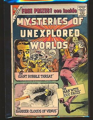 Mysteries Of Unexplored Worlds # 16 VG/Fine Cond.