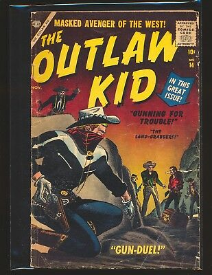 Outlaw Kid # 14 Good+ Cond.