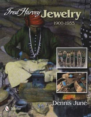 Fred Harvey Silver & Turquoise Vintage Indian Jewelry Collector Guide 1900-1955
