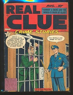 Real Clue Crime Stories Vol. 4 # 6 VG+ Cond.