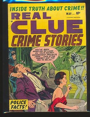 Real Clue Crime Stories Vol. 7 # 3 VG Cond.