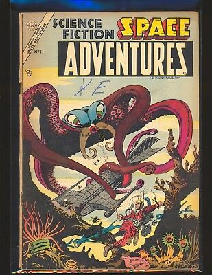 Science Fiction Space Adventures # 11 Ditko cover & art, 2 Ditko stories VG Cond