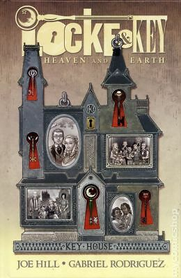 Locke and Key Heaven and Earth HC (2017 IDW) Deluxe Edition #1-1ST NM