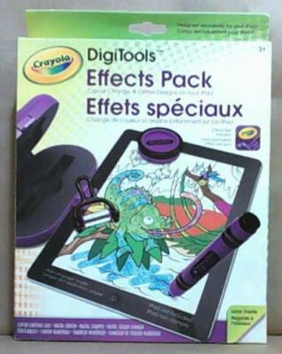 NEW Crayola DigiTools Effects Pack 60-3479
