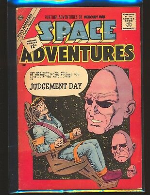 Space Adventures # 45 - Mercury Man appearance VG/Fine Cond.