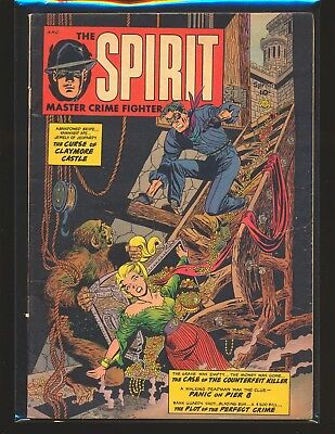 Spirit # 1 restored VG Cond. color touch on cover tear seal