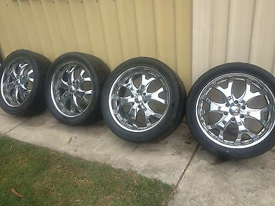 22x9 inch Alloys Suit 4x4 6 Stud  Off Holden Colorado