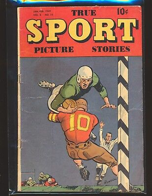 True Sport Picture Stories Vol. 4 # 11 G/VG Cond.