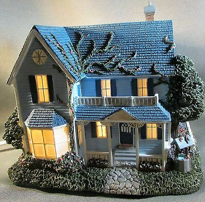 "Thomas Kinkade Hawthorne Village ""Family Traditions"" Hometown Spring Collection"