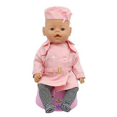 1set Doll Clothes Wearfor 43cm Baby Born zapf (only sell clothes ) B91