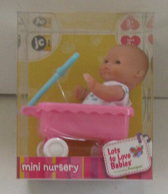 Berenguer Mini Nursery 5 inch lots to love baby doll play set New in box.