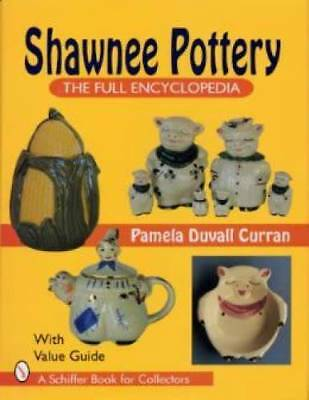 Shawnee Pottery ID$ Book Cookie Jar Planters Teapot Etc