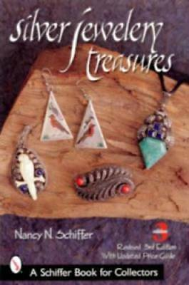 Silver Jewelry Treasures Book Vintage Sterling Modern